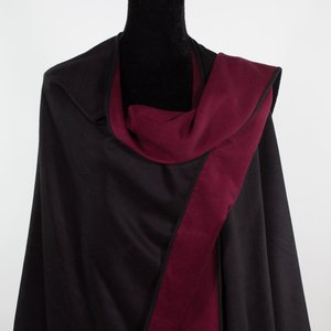 Brushed Silk Wraps and Capes