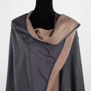 Brushed Silk Capes